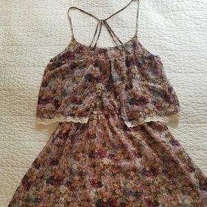 lft Dresses - 5 for $30 Strappy Floral Sun Dress